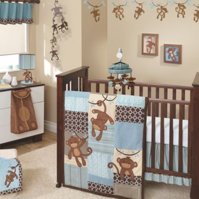 Lambs & Ivy® Giggles 5-Piece Crib Bedding Set