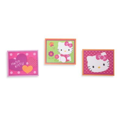 Lambs & Ivy® Hello Kitty Garden Wall Decals