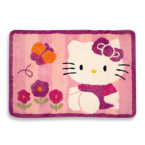 buy lambs ivy hello kitty garden rug from bed bath beyond. Black Bedroom Furniture Sets. Home Design Ideas