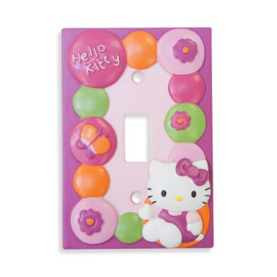 Lambs & Ivy® Hello Kitty Garden Switch Plate Cover