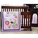 Kids Line™ Flutter Bug 4-Piece Crib Bedding Set