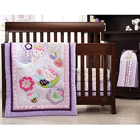Kids Line™ Flutter Bug Crib Bedding Collection