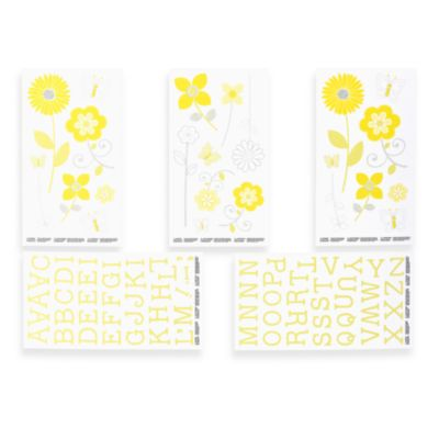 NoJo® Bright Blossoms Wall Decals
