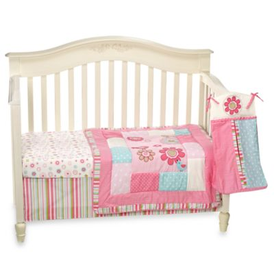 CoCaLo® Bailey 4-Piece Crib Bedding Set