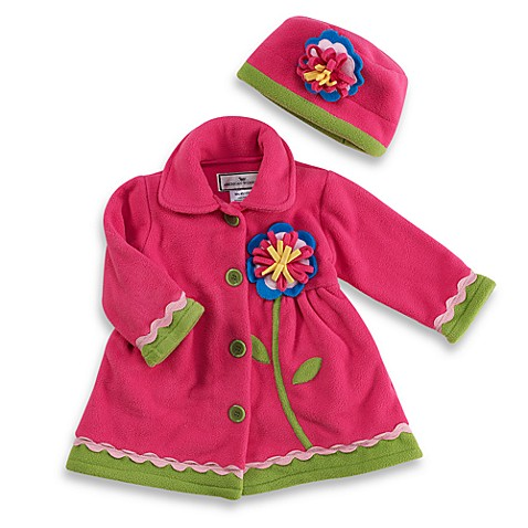 Ric Rac Flower Coat & Hat