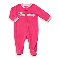 Carter's® Pink Mommy Terry Zip-Up Sleep & Play