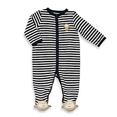 Carter's® Stripe Monkey Terry Snap-Up Sleep & Play