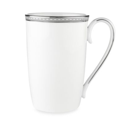 White Platinum Accent Mug
