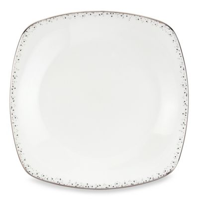 Lenox® Silver Mist 10 1/4-Inch Square Dinner Plate