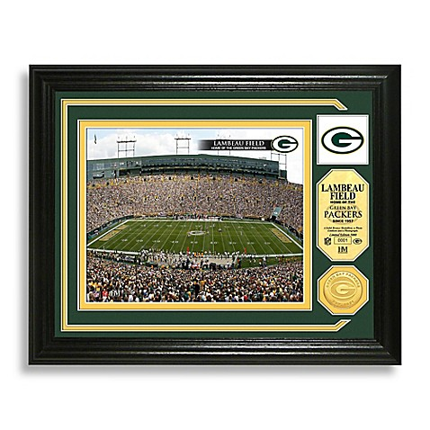 Green Bay Packers Minted Team Medallion Photo Mint