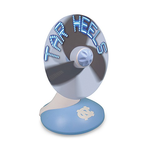 University of North Carolina Light Up Desktop Message Fan