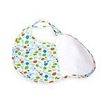 Bebe au Lait® Lille Quib Quadruple Bib in Fishies Boy