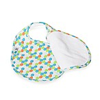 Bebe au Lait® Lille Quib Quadruple Bib in Swirls Boy