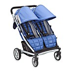 Valco Baby Zee TWO Stroller in Zoom Blue Opal