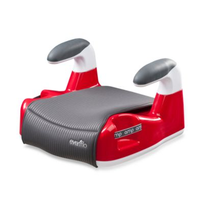 Booster Car Seats > Evenflo® Amp™ Performance No-Back Booster Car Seat in Red