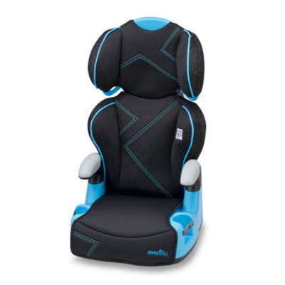 Evenflo® Amp™ High Back Booster Car Seat in Blue Angles