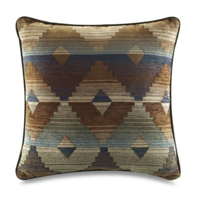 Croscill Dakota Square Toss Pillow