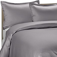 Pure Beech® Modal Sateen Duvet Cover Set in Grey