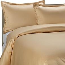 Pure Beech 174 Modal Sateen Duvet Cover Set In Honey Bed