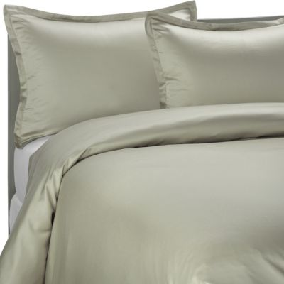 Pure Beech® Modal Sateen Twin Duvet Cover Set in Sage