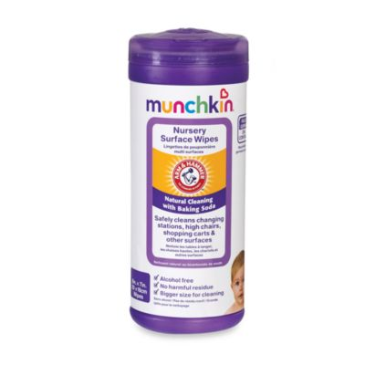 Munchkin ® Arm & Hammer™ 24-Count All-Purpose Nursery Wipes