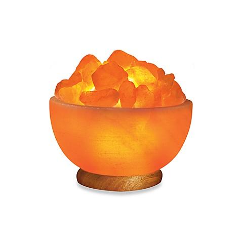 Himalayan glow ionic crystal bowl lamp bed bath beyond for Himalayan glow salt crystal lamp reviews