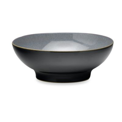 Denby Jet 1.4-Liter Medium Serving Bowl