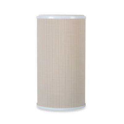 Lamont Home™ Raine Round Hamper in White/Ivory