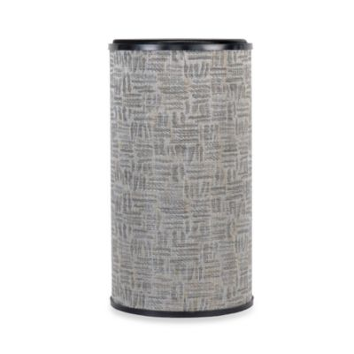Lamont Home™ Zoe Round Hamper in Silver/Black