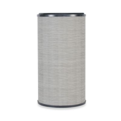 Lamont Home™ Aiden Round Hamper in Taupe