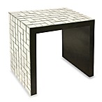 Howard Elliott® Mosaic Mirrored Accent Table