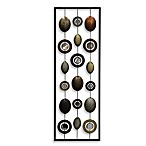 Metal Mirror Wall Decor in Circle Panel I