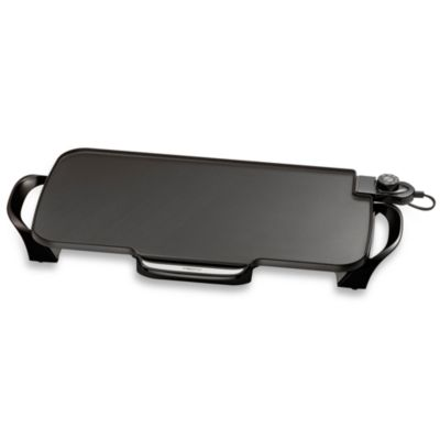Griddle with Removable Handles