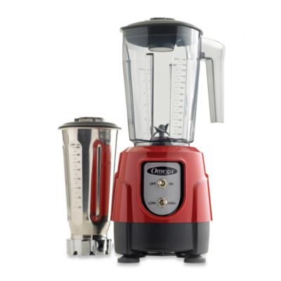 Omega® BL390 Blender Tritan Container Combo Pack in Red