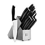 J.A. Henckels International Silver Cap 14-Piece Knife Block Set