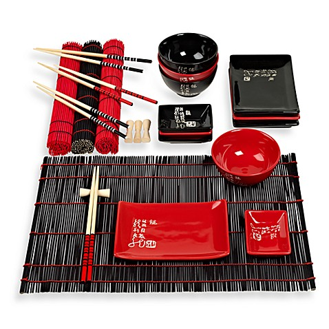 Infuse ®24-Piece Asian Serving Set by Tabletops Unlimited®