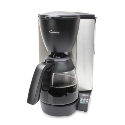 Single Coffee Maker Bed Bath And Beyond : Buy Capresso MG600 Plus 10-Cup Stainless Steel Coffee Maker from Bed Bath & Beyond