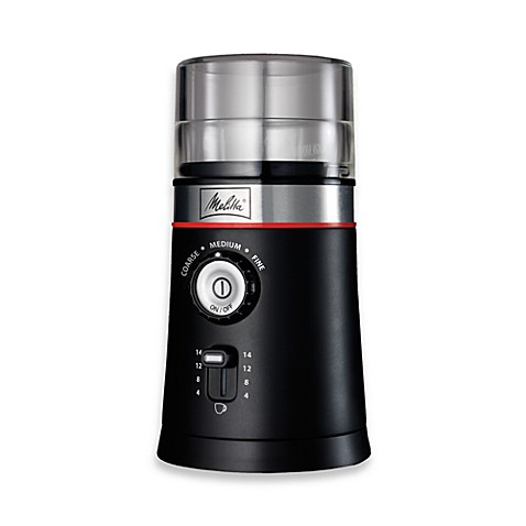 Melitta® Electric Coffee Grinder with Custom Cup