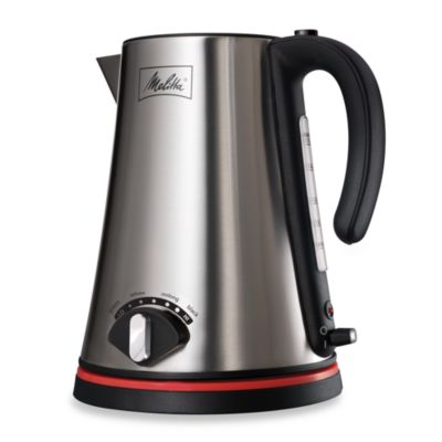 Black Cordless Tea Kettle