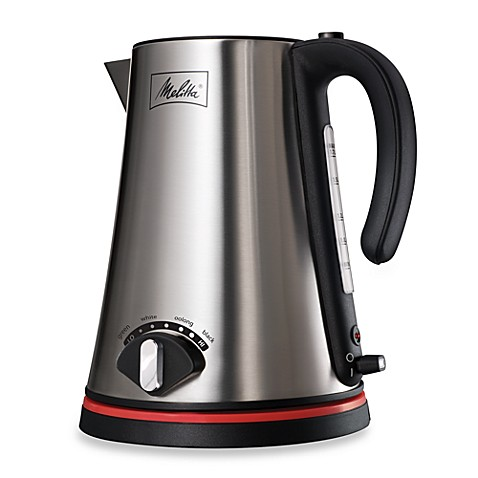 melitta 174 1 7 liter cordless electric kettle bed bath