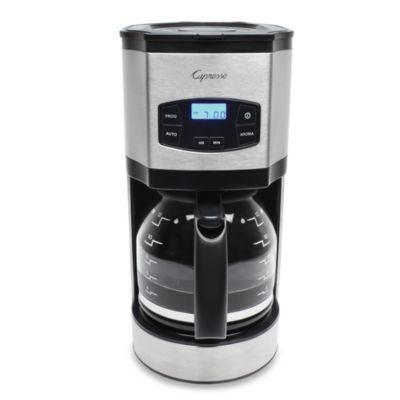 Steel Coffee Maker with Carafe