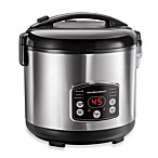 Hamilton Beach® Digital Simplicity™ Rice Cooker and Steamer
