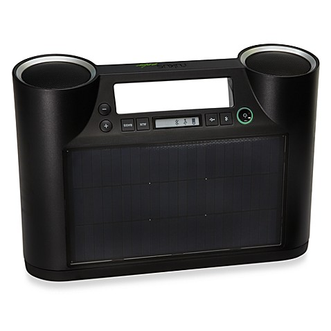eton rukus solar bluetooth sound system bed bath beyond. Black Bedroom Furniture Sets. Home Design Ideas