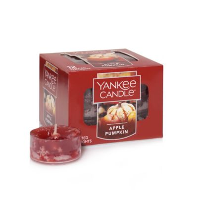 Yankee Candle® Housewarmer® Apple Pumpkin Scented Tea Light Accent Candles (Box of 12)