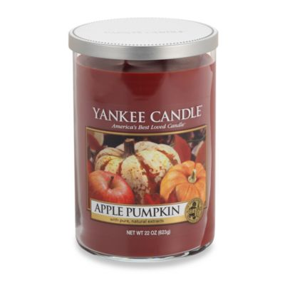 Yankee Candle® Housewarmer® Apple Pumpkin Large 2-Wick Lidded Candle Tumbler