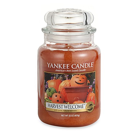 Yankee candle housewarmer harvest welcome scented for America s second harvest