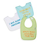 Gerber® 2-Ply Baby Sayings Terry Bibs