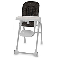 Snugli® High Chair Style Set in Quilted Black