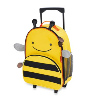 SKIP*HOP® Zoo Little Kid Rolling Luggage in Bee