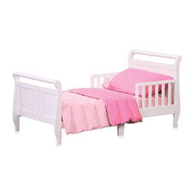 Delta Ruby Toddler Bed in White